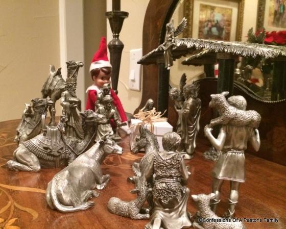 Elf worshiping