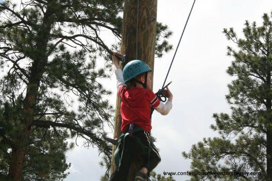 Zak high ropes